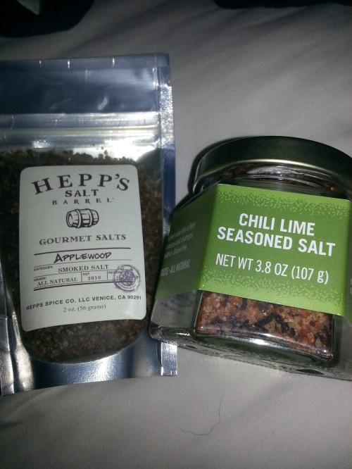 Good salts...not bath salts!